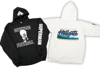 Medford & Grants Pass, Oregon sweatshirt & jacket screen printing